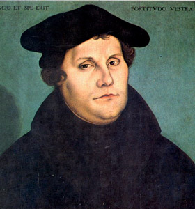 What would Martin Luther say?